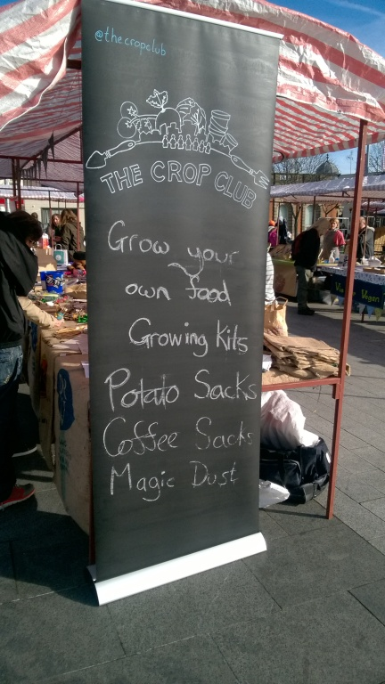 The Crop Club at Sneinton vegan market