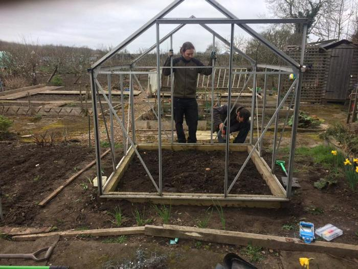 Glass House construction for Amanda March 2017