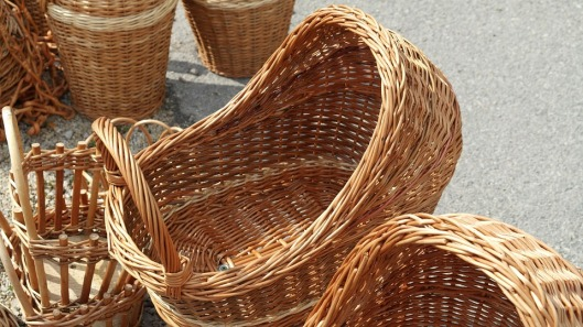 Willow branches have been woven to make baskets for centuries